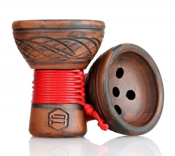 Japona Hookah Turkish Bowl Rot/Grün
