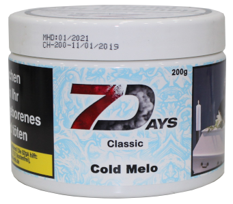 7 Days Classic - Cold Melo - 200g
