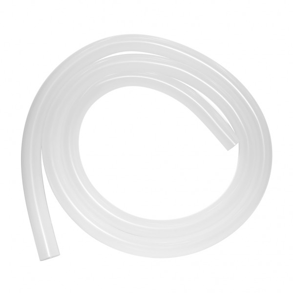 Shisha Silikonschlauch Glanz Transparent weiß