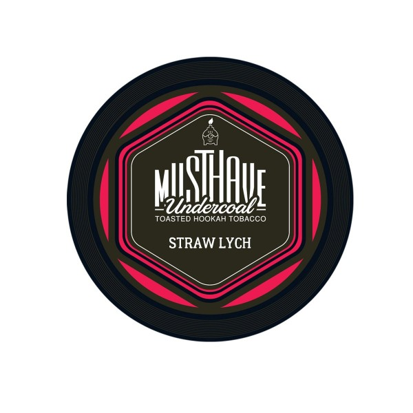 Musthave Tabak Straw Lych 200g