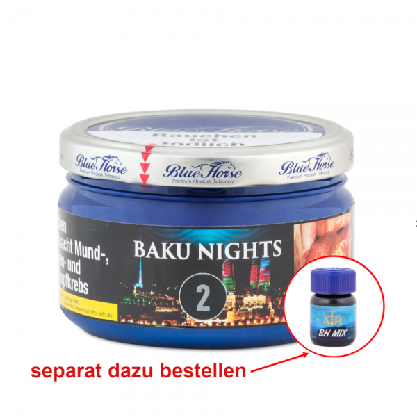 Blue Horse Tabak BAKU NIGHTS 200g