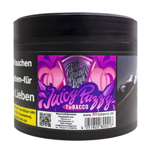 187 Tobacco Juicy Puzzy 200g