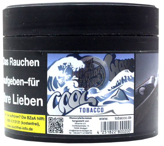 187 Tobacco #013 Cool Wave 200g