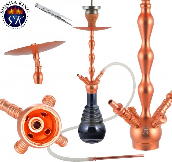 SKS Shisha King 614 Neptun - Rosegold/Light Black