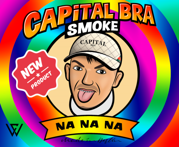Capital Bra Smoke Na Na Na - 200g