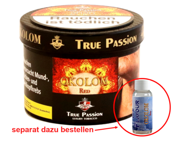 True Passion Okolom Red 200g