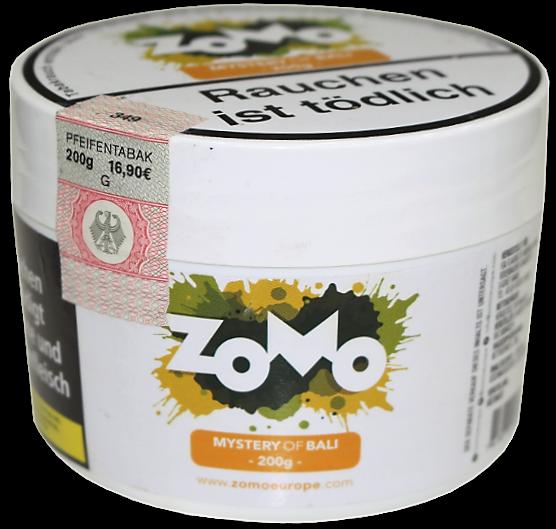 Zomo Tobacco - Mystery of Bali - 200g