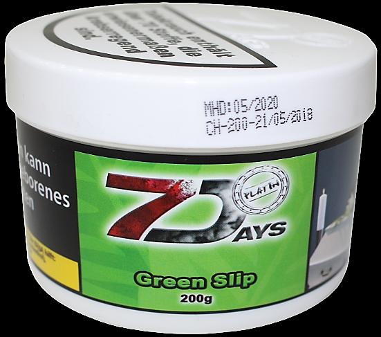 7 Days Platin - Green Slip - 200g