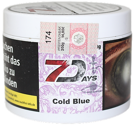 7 Days - Cold Blue - 200g
