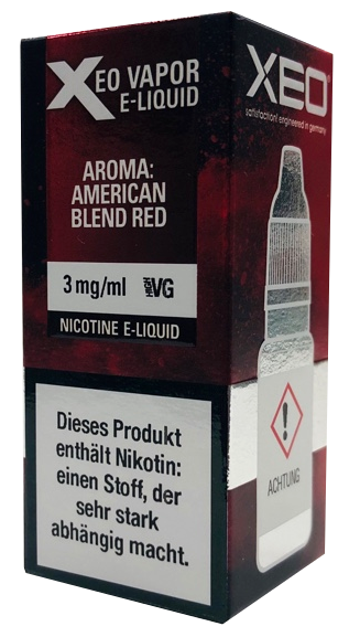 Xeo - American Blend Red 3mg - 10ml