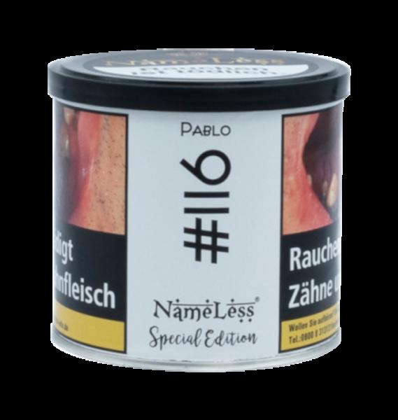 Nameless Tobacco #116 Pablo - 200
