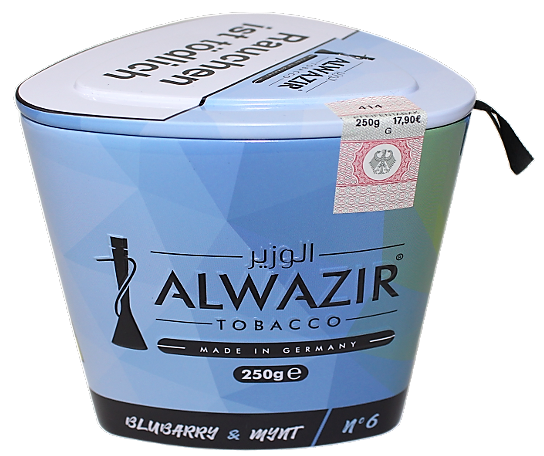 ALWAZIR Tobacco BLUBARRY & MYNT - 250g