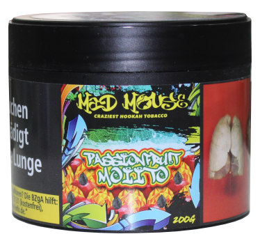 Mad Mouse Tobacco - Passionfruit Moiito - 200g