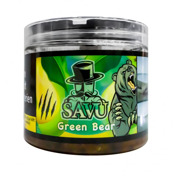 Savu Green Bear Tabak 200g