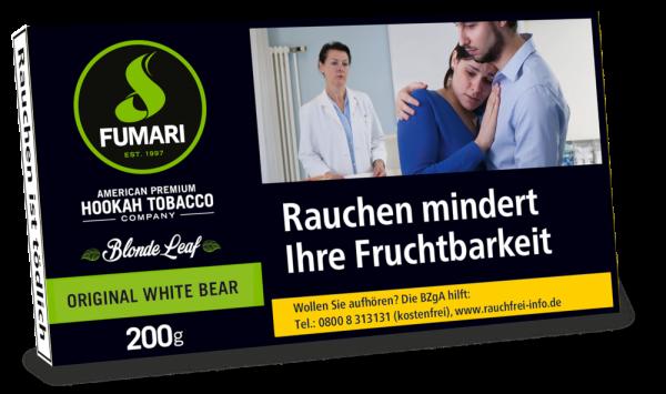 Fumari Tabak Orginal White Bear - 200g