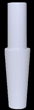 Schlauch-Anschlussstück (Alu) - Weiß