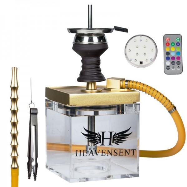 Heavensent Cube Shisha 3.0 Gold