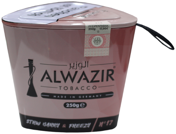 ALWAZIR Tobacco Strw Barry & Frezzy - 250g