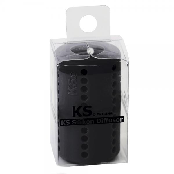 KS Original - Silikondiffusor Tube - Schwarz