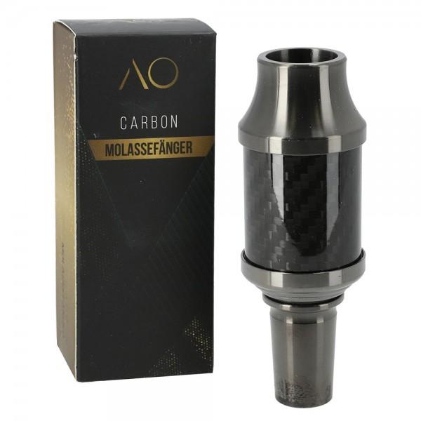 AO Carbon Molassefänger Aluminium Schwarz 18/8