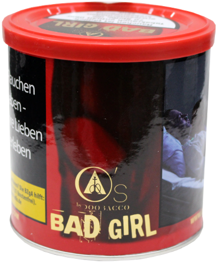 O's Tobacco Red Bad Girl 200g