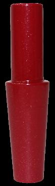 Schlauch-Anschlussstück (Alu) - Rot